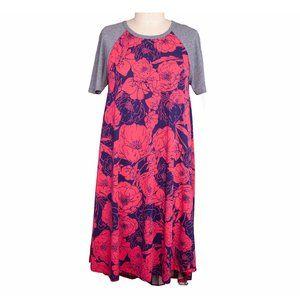 LuLaRoe Pocket  Flower Dress